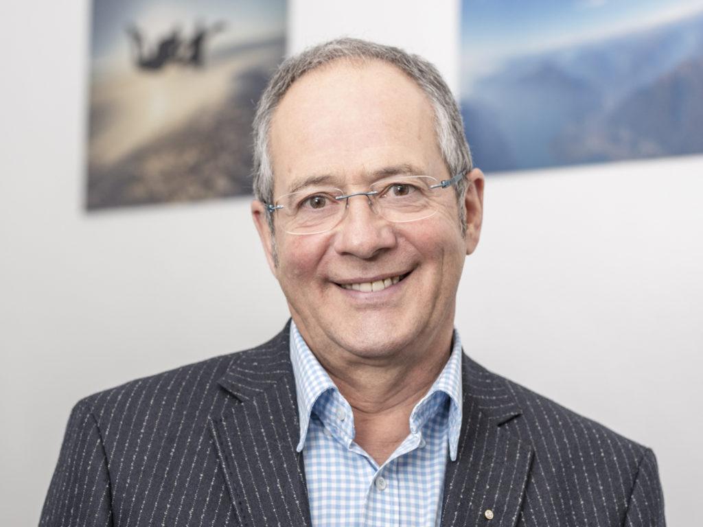Familienkonflikte Portrait Rolf Düggelin Kontaktaufnahme